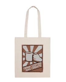 beber café y crear