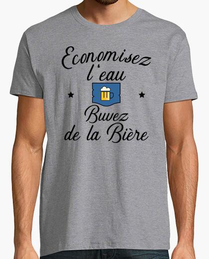 Camiseta beber cerveza