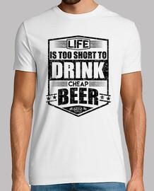 beber cerveza barata