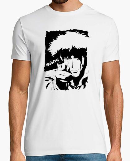 Camiseta bebop del vaquero