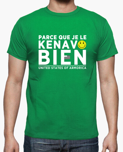 Because i well kenavo - t-shirt
