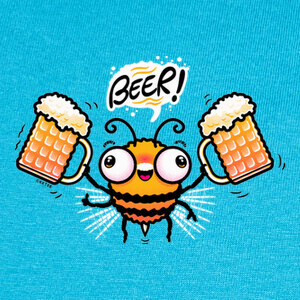 Tee-shirts Bee Beer