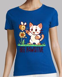 bee pawsitive - camisa de mujer