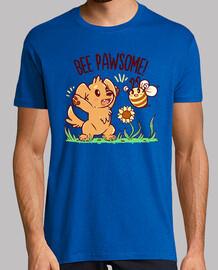 bee pawsome - camisa de hombre