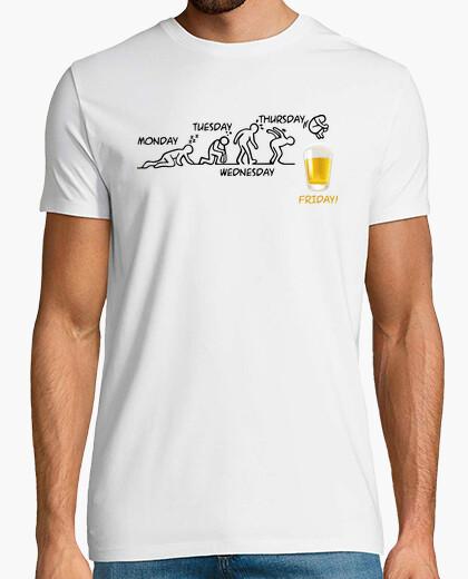T-shirt Beer-volution (en)