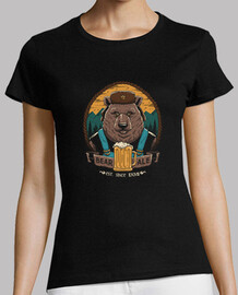 beer & bear shirt womens