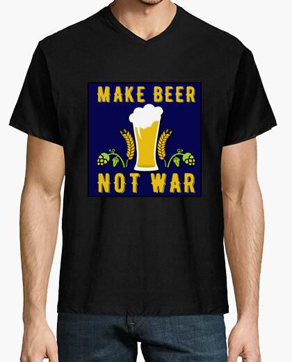 Camiseta beer not war