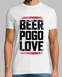 beer, pogo & love white dirt
