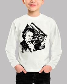 Beethoven hip-hop ghettoblaster