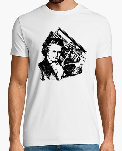 T-shirt beethoven hip-hop ghettoblaster