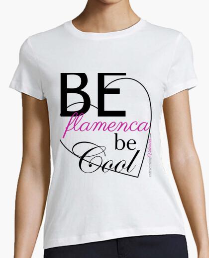 Camiseta #BeFlamencaBeCool