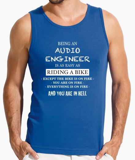 Camiseta Being an Audio Engineer is Easy