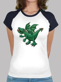 béisbol dragón verde