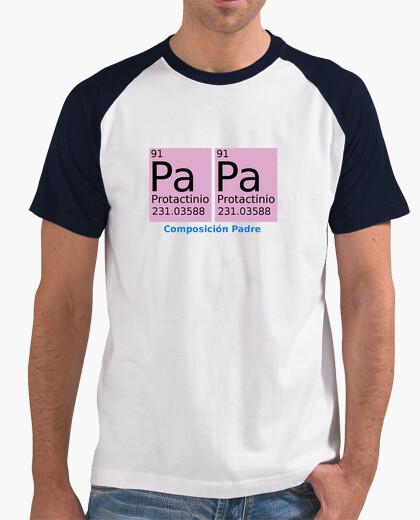 Tee-shirt beisbolera chimique père