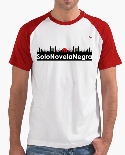 Camiseta Beisbolera Solo Novela Negra