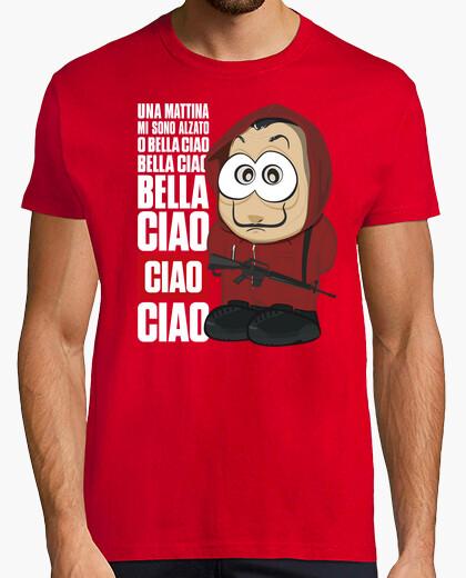 Camiseta Bella ciao - La casa de papel - chico