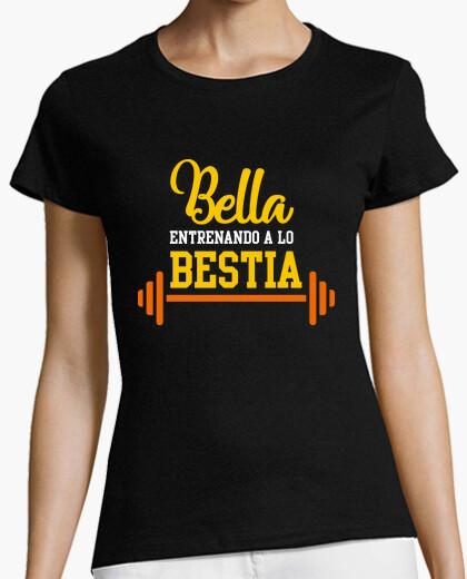 Camiseta Bella entrenando a lo bestia