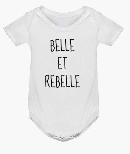 Vêtements Enfant Belle Et Rebelle Citation
