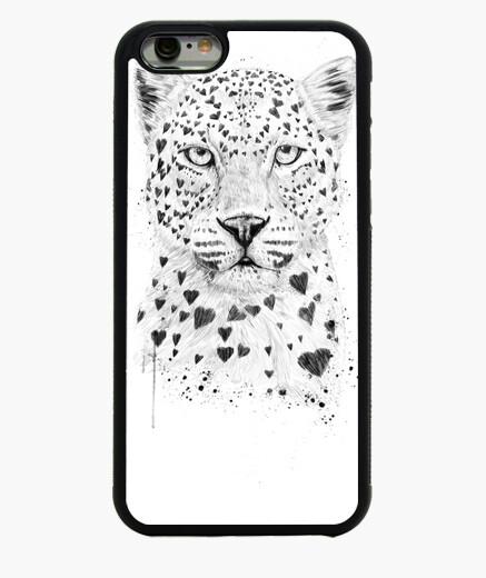Coque Iphone 6 / 6S belle léopard