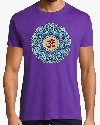 Camiseta belleza mandala ohm