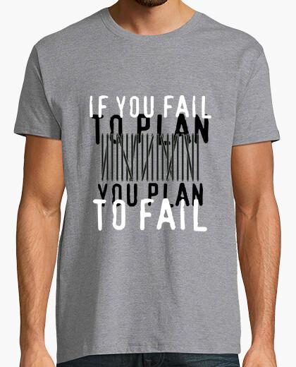 Camiseta Ben Franklin - to plan, beneficios de planificación
