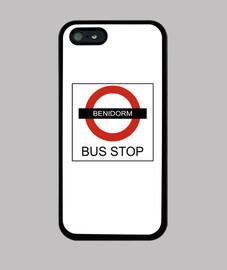 benidorm arrêt de bus