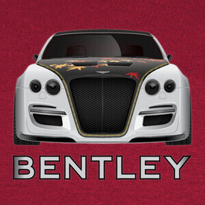 Camisetas BENTLEY CONTINENTAL GTR