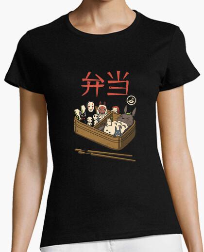Bento spirits camiseta para mujer