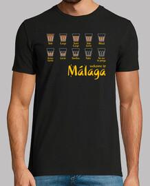 benvenuto a malaga (red)