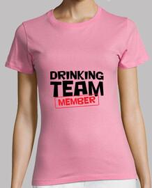 bere membro del team / s trendy