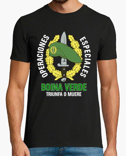 Tee-shirt béret vert t-shirt coe mod.1