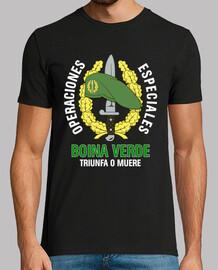 béret vert t-shirt coe mod.1