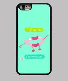besame muncho, Funda iPhone 6, negra