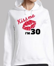 besame tengo 30 años de cumpleaños