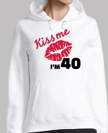 besame tengo 40 años de cumpleaños