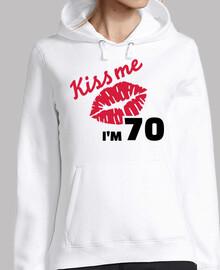 besame tengo 70 años de cumpleaños