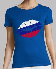 beso bandera de rusia
