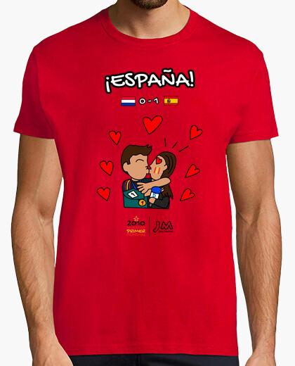 Camiseta Beso de Iker Casillas a Sara...