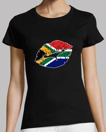 beso de la bandera de sudáfrica