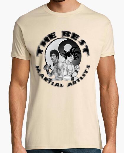 Tee-shirt best artistes martiaux