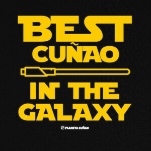 Camisetas Best cuñao in the galaxy