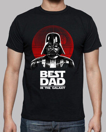 best dad in the galaxy shirt mens