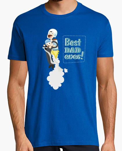 T-shirt best dad mai