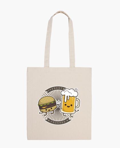 Bolsa best friends - mejores amigos cerveza y