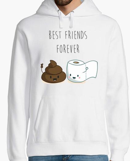 it 1593110 Friends Best Forever Felpa Tostadora w8COqnv