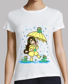 best frog girl - womans shirt