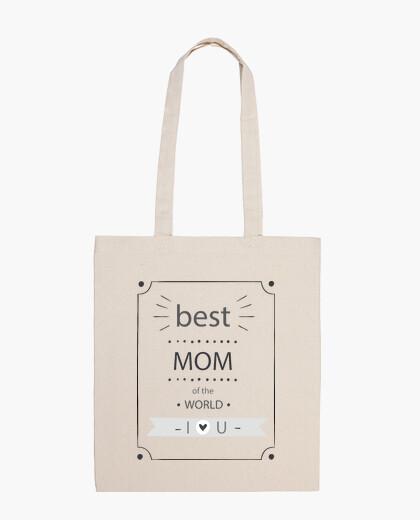 Borsa best nero mamma