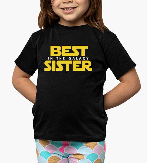 Vêtements enfant best soeur de la galaxy sw