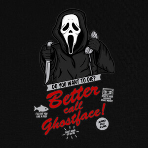 Tee-shirts Better Call Ghostface