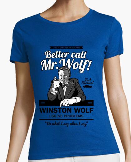 T-shirt better call mr. lupo